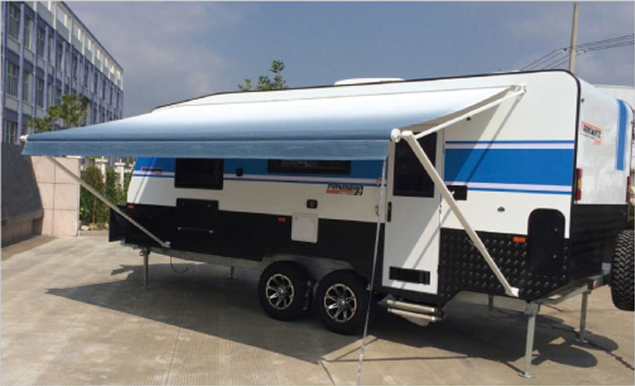 Vinyl Fabric Roll Out Caravan AwningRV Awning From Awnlux
